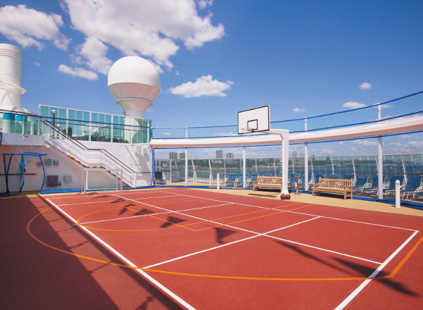 Sports Deck on Jewel of the Seas