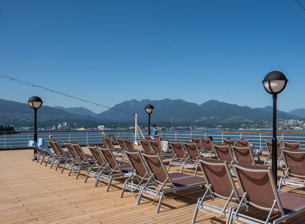 Sun Deck on Koningsdam
