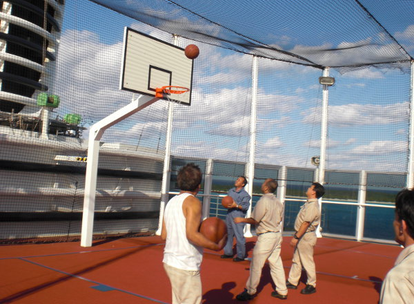 Sport Court on Koningsdam