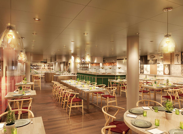 Culinary Arts Center on Koningsdam