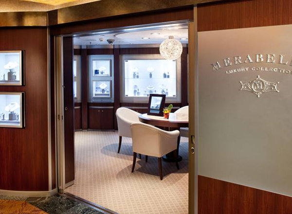 Merabella Luxury Shop on Koningsdam
