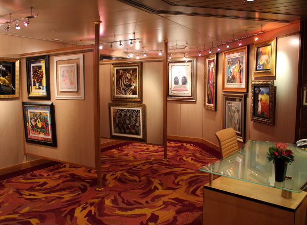 Art Gallery on Koningsdam