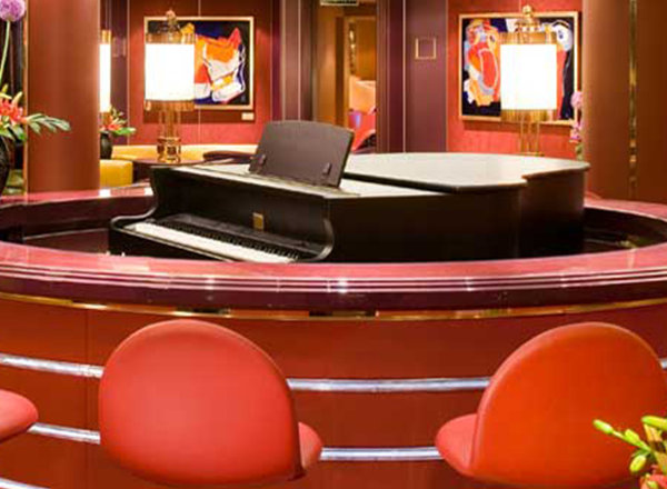 Piano Bar on Koningsdam