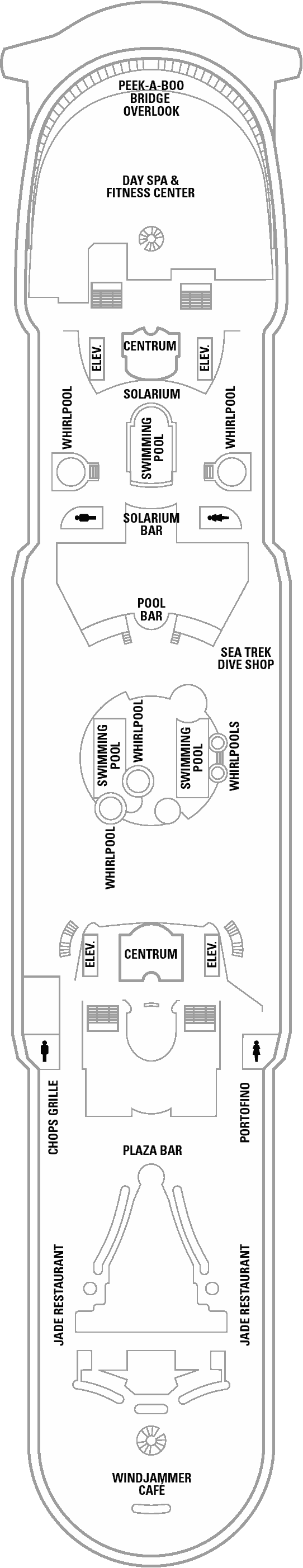 mariner of the seas deck plans