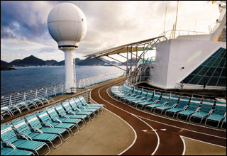 Jogging Track on Monarch of the Seas