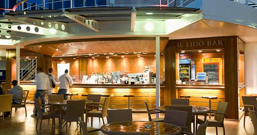 Il Lido Bar on MSC Armonia
