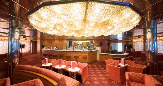 Moulin Rouge Piano Bar on MSC Armonia