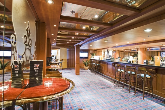White Lion English Pub on MSC Armonia