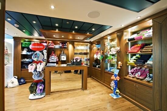 Pool Shop on MSC Divina
