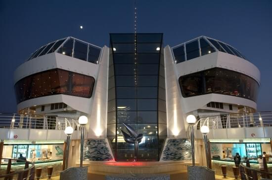 Poseidon Bar on MSC Divina