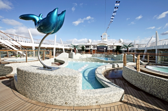 Aqua Park on MSC Fantasia