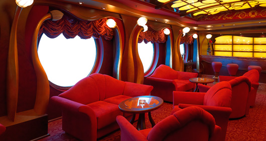 Cigar Room on MSC Fantasia