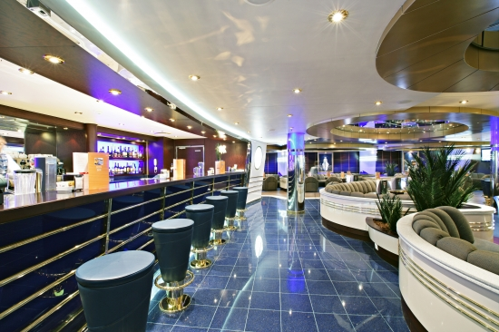 Il Transatlantico Piano Bar on MSC Fantasia