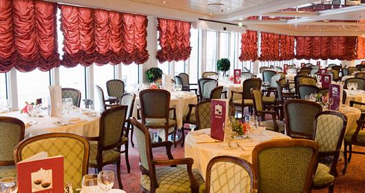 La Pergola Restaurant on MSC Lirica