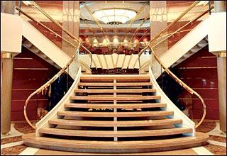 Lirica Foyer on MSC Lirica