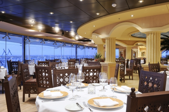 L''Oasi Restaurant on MSC Magnifica