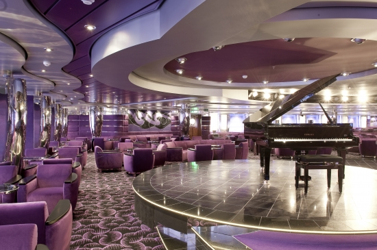 L''Ametista Lounge on MSC Magnifica