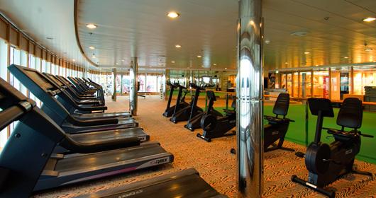 Gym on MSC Opera