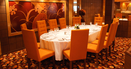 L''Ibiscus Restaurant on MSC Orchestra