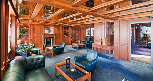 Cigar Room on MSC Poesia