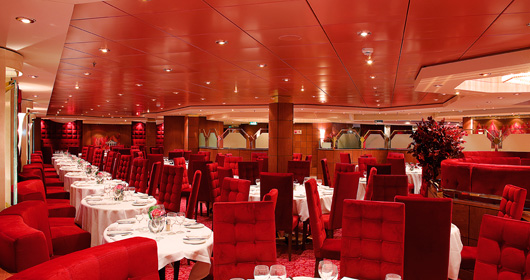 Il Palladio Restaurant on MSC Poesia