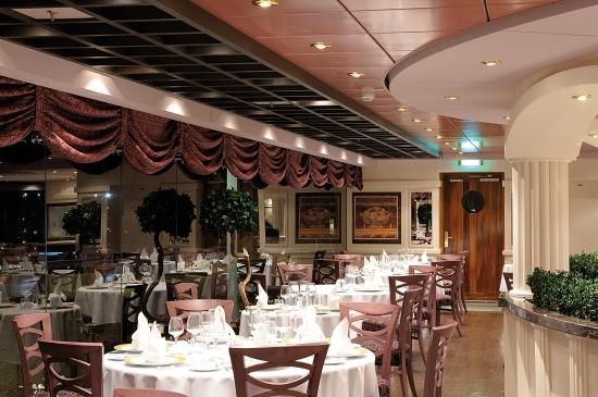 L''Obelisco Restaurant on MSC Poesia