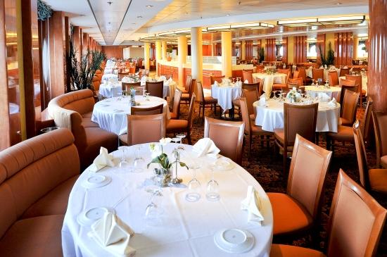 Il Covo Restaurant on MSC Sinfonia