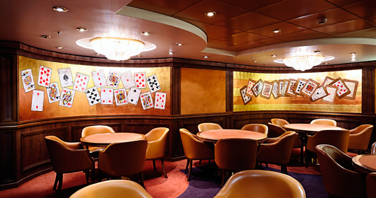 Card Room on MSC Sinfonia