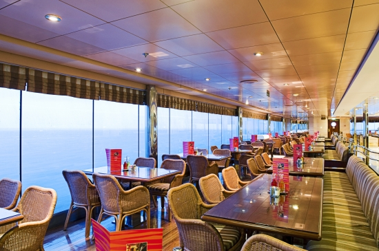 Cafe on MSC Sinfonia