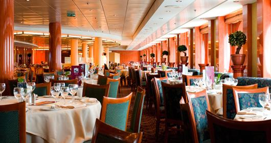 Il Galeone Restaurant on MSC Sinfonia