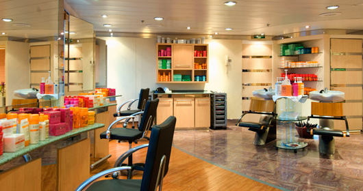 Beauty Parlour on MSC Sinfonia