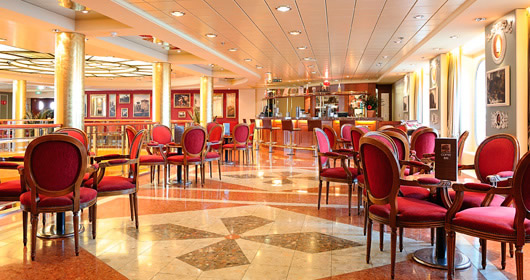 Cafe Le Baroque on MSC Sinfonia