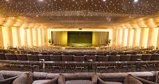 Theatre on MSC Sinfonia