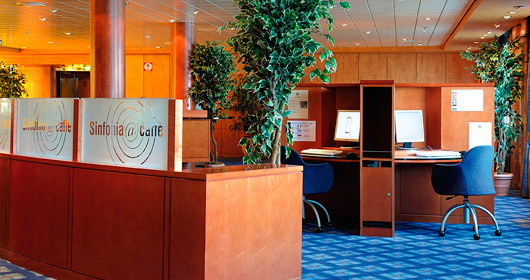 InternetCafe on MSC Splendida