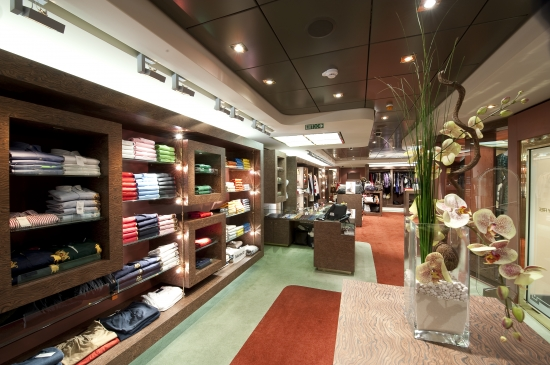 Boutique on MSC Splendida