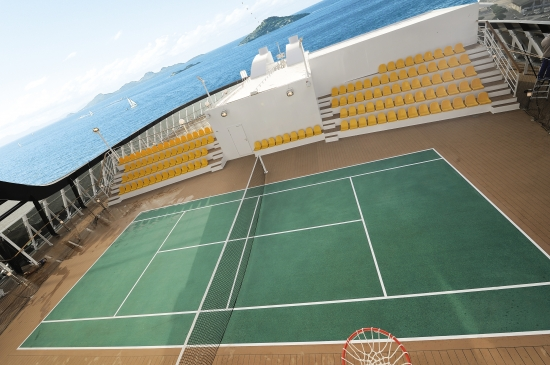 MSC Arena Sport Center on MSC Splendida
