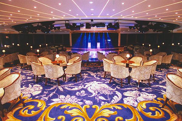 Lounge/Dance Floor on Nautica