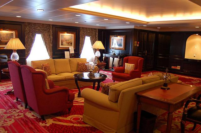Reception Hall/Desk on Nautica