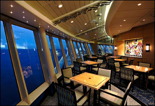 Cloud Nine on Navigator of the Seas