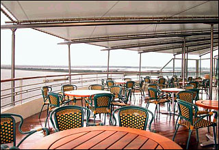 Terrace Grill on Nieuw Amsterdam
