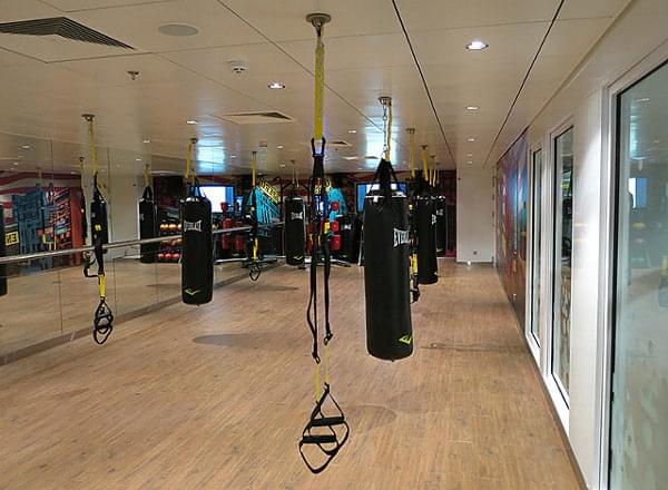 Fitness Center on Norwegian Breakaway
