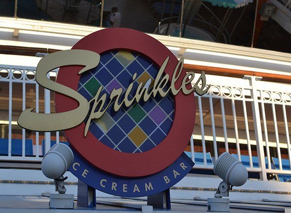 Sprinkles Ice Cream Bar on Norwegian Dawn