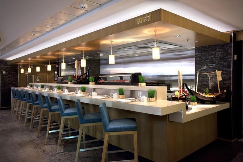 Sushi Bar on Norwegian Epic