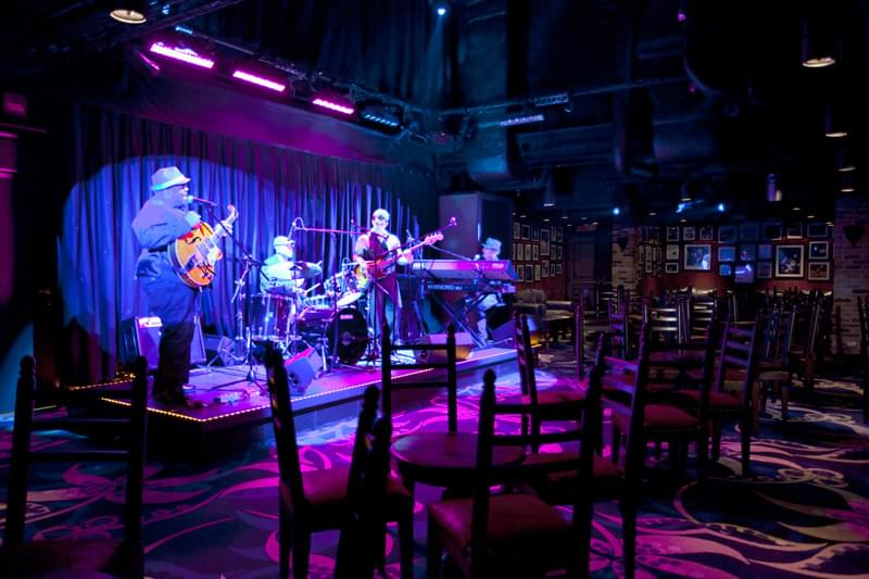 Fat Cats Jazz And Blues Club on Norwegian Epic