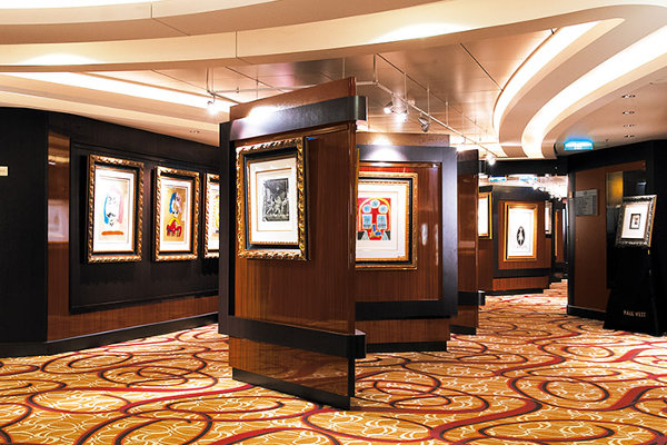 Art Gallery on Norwegian Escape