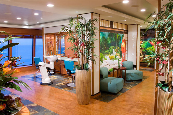 Hair and Beauty Salon on Norwegian Escape