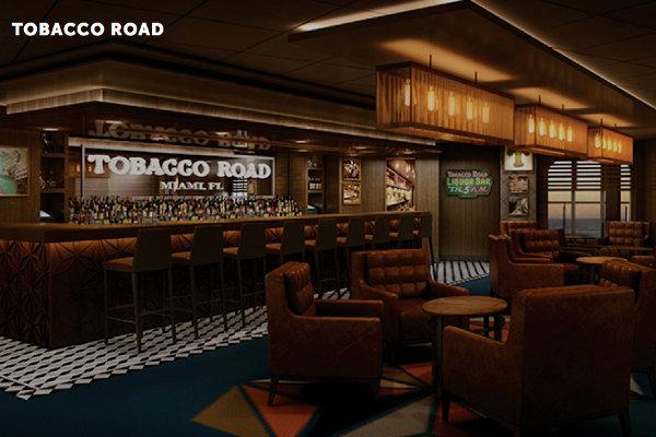 Tobacco Road Liquor Bar on Norwegian Escape