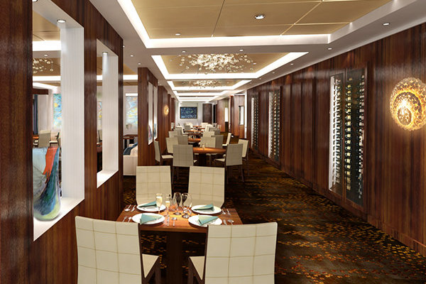 The Private Room at Taste on Norwegian Escape