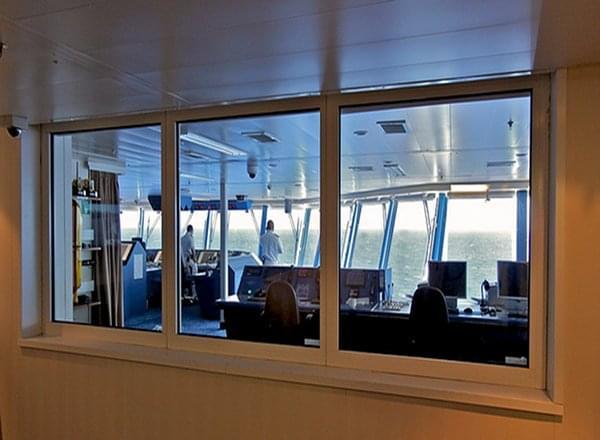 Bridge Viewing Room on Norwegian Gem