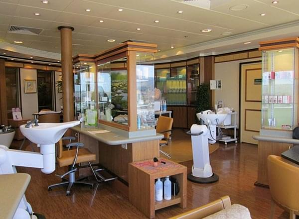 Hair And Beauty Salon on Norwegian Gem